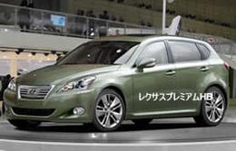 CT : la future petite Lexus a un nom