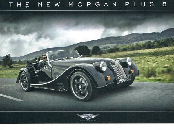 Morgan annonce le retour de la Plus 8