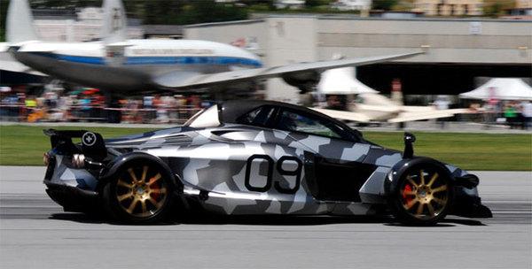 [Vidéo] Fifth Gear teste la Tramontana R Edition