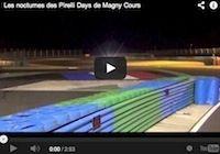 Pirelli Days 2013: roulages de nuit façon Endurance (vidéo)