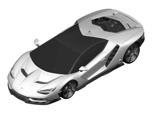 Scoop : voici la Lamborghini Centenario LP 770-4 prévue pour Genève