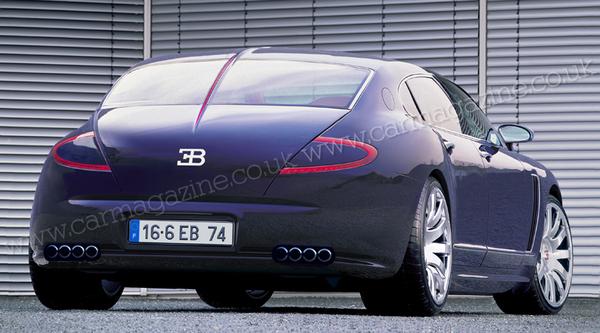 Future Bugatti limousine: comme ça?