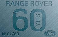 Land Rover Range Rover 60e anniversaire: un monument!