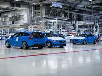 Volvo lance la production des S60 et V60 Polestar