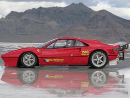 [Vidéo] 440 km/h pour la Ferrari la plus rapide du monde : une 288 GTO avec un V8 US de 8,8 litres !