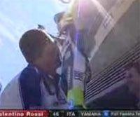 Vidéo moto : Rossi et son strike