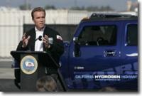 Salon de Los Angeles : Schwarzenegger apporte sa touche écolo