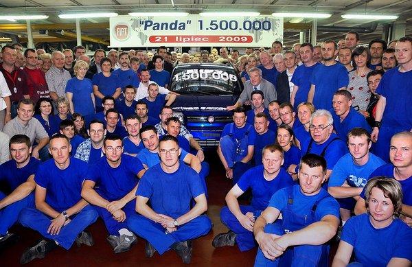 1 500 000 Fiat Panda dans la nature