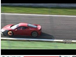 [vidéo]  une Ferrari 458 Challenge à Monza