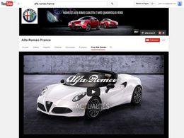 Alfa Romeo lance sa chaîne YouTube