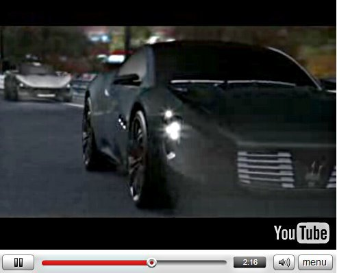 Vidéo : Maserati Chicane et Sfida Concept