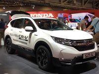 Honda CR-V hybrid: hybride malusé - En direct du Mondial de Paris