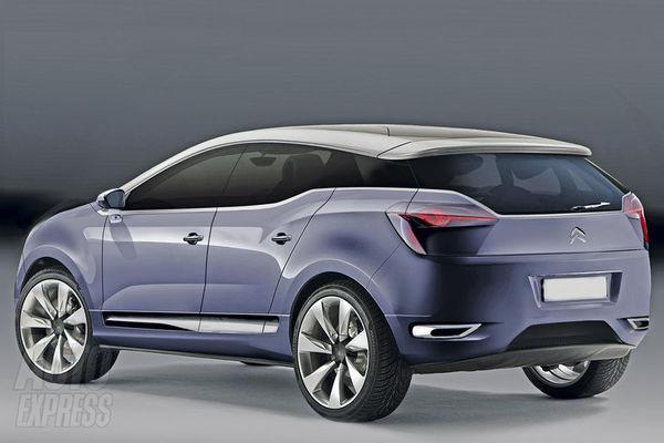 Future Citroën DS4: plutôt comme ça?