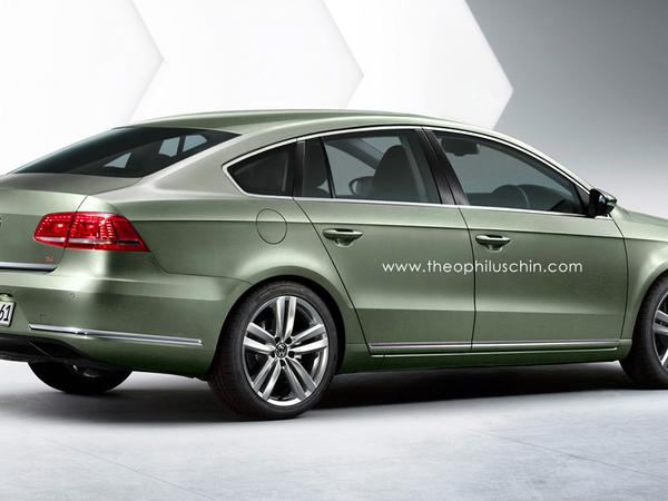 Et pourquoi pas une Volkswagen Passat cinq portes ?