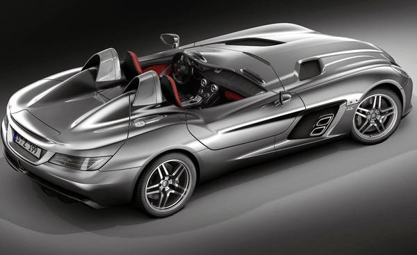 (2 vidéos) Mercedes McLaren SLR Stirling Moss