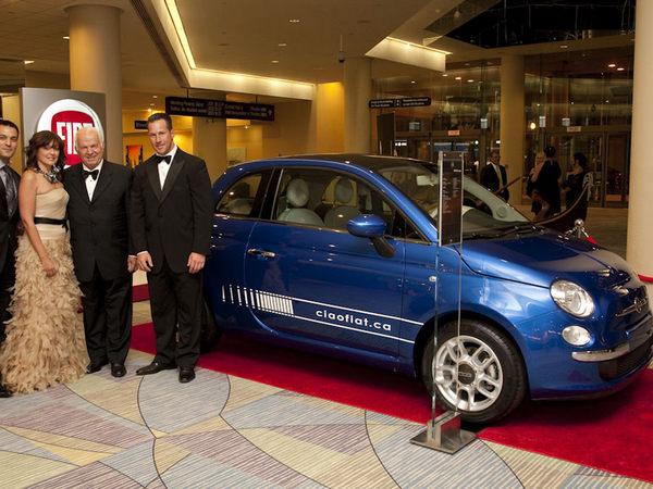 la première Fiat 500 canadienne vendue 85 000 dollars