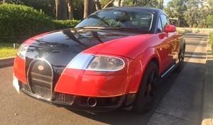 Une tentative de réplique de Bugatti Veyron sur base d'Audi TT