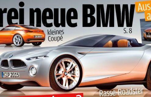 BMW Z Vision Concept au Salon de Francfort: de quoi s'agira-t-il?
