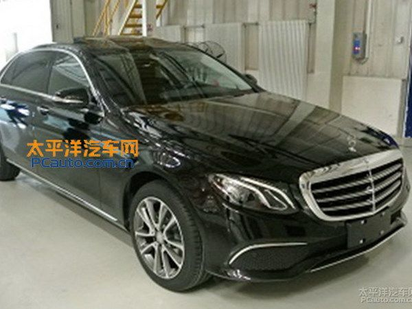 Mercedes Classe E : la version longue surprise en Chine