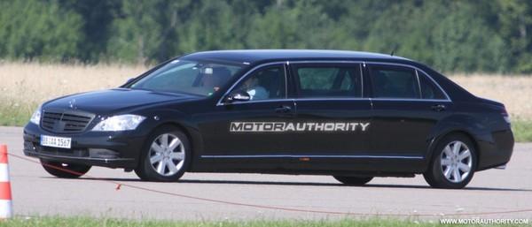 Spyshot : Mercedes Classe S Pullman
