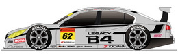 Subaru Legacy B4 GT300: bientôt prête