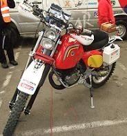 Dakar 2011 : Ignacio Chivite et sa Bultaco KO, mais chapeau !