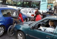 Jour de grève en Ile-de-France : davantage d'accidents des deux-roues
