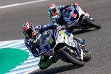 MotoGP - Catalogne J.2 : Baz à trois places de Rossi