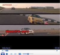 Vidéo : BMW M3 vs Porsche 911 GT3 vs Nissan GT-R by Autocar. Who's the Drag Queen ?