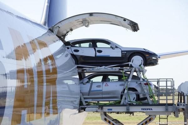 La Porsche Panamera débarque sur le sol américain