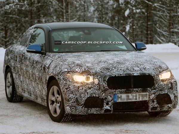 Surprise : est-ce là la future BMW Série 2 ?