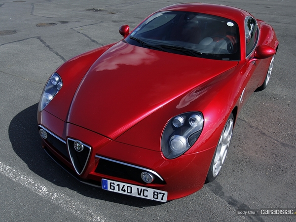 photos du jour alfa romeo 8c competizione sport. Black Bedroom Furniture Sets. Home Design Ideas