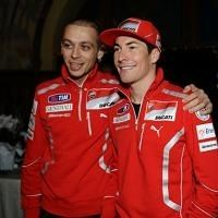Moto GP - Ducati: Rossi en rouge et en images qui bougent
