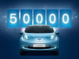 50 000 Nissan Leaf sur les routes