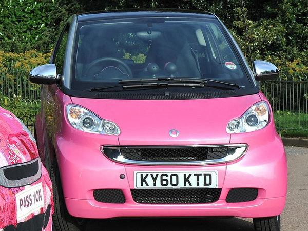 Smart Fortwo Pink Passion : rien que pour les filles