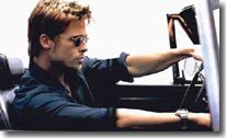 Brad Pitt, le chauffard de la semaine