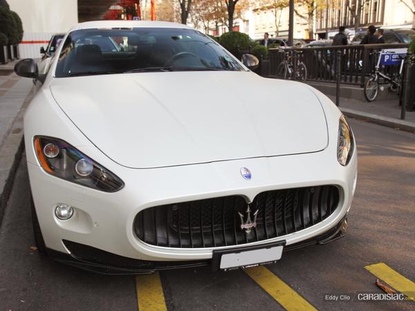 Photos du jour : Maserati Gran Turismo Mc Sportline