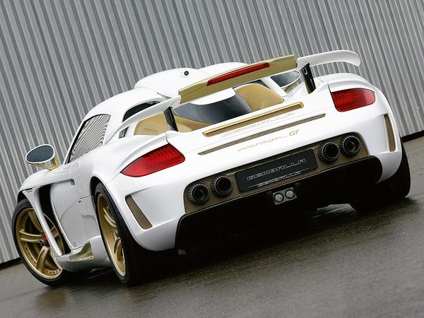 Gemballa Mirage GT Gold Edition : lumière !