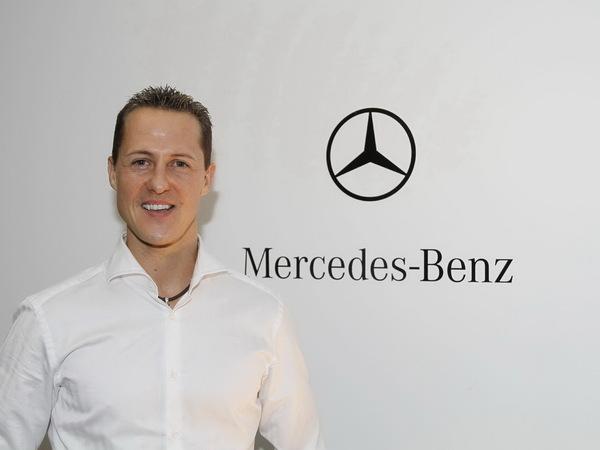 Michael Schumacher participera au développement des futures Mercedes sportives