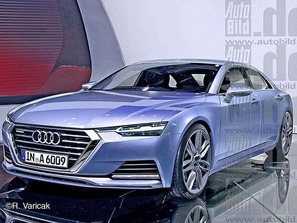 Futures Audi A6 et A8: une évolution du style? Oui!