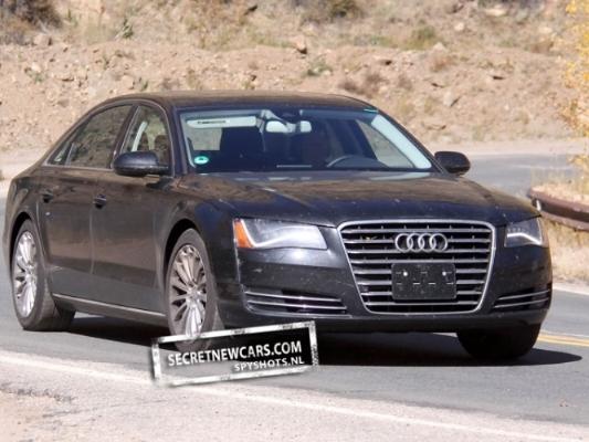 Spyshot : l'Audi S8 de retour