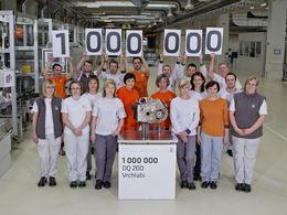 Skoda célèbre son premier million de boîtes à double embrayage DQ 200