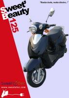 soci t sweet 39 elec deux scooters lectriques 125 cm3 lanc en 2008. Black Bedroom Furniture Sets. Home Design Ideas
