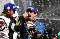 GP du Brésil : Alonso, Renault et Michelin : Champions du Monde