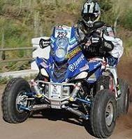 Dakar 2011 : 9ème étape, quad, Alejandro l'emporte en patron....elli