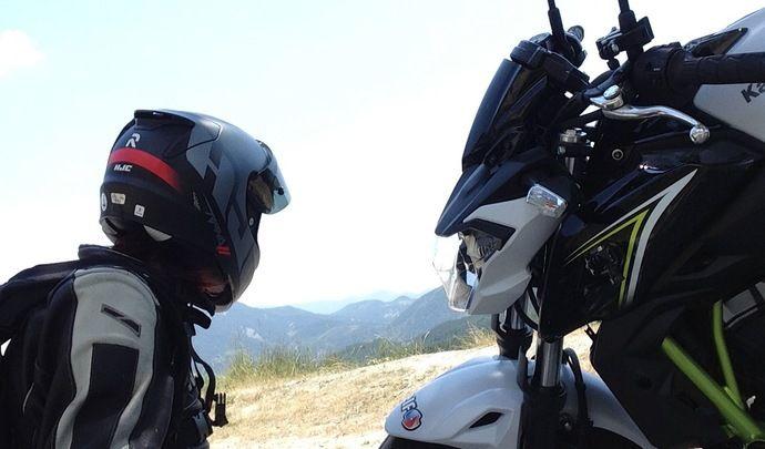 Événement essai Caradisiac Moto : les Vlogs du Kawasaki Z 650 en A2