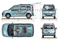 Renault : 2 versions de Nouveau Kangoo répondent à la signature Renault eco 2. Une version bioéthanol E85 et une version biodiesel B30 dès 2008.