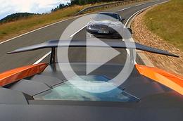 Vidéo Corvette ZR1 : et la voiture pourchassée est...