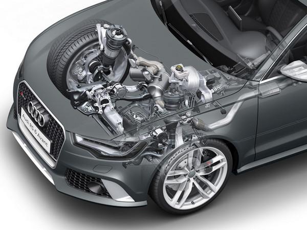 Audi travaille sur la récupération d'énergie ... des suspensions