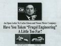 La lettre ouverte de Don Panoz à Carlos Ghosn accusé de violation de propriété intellectuelle